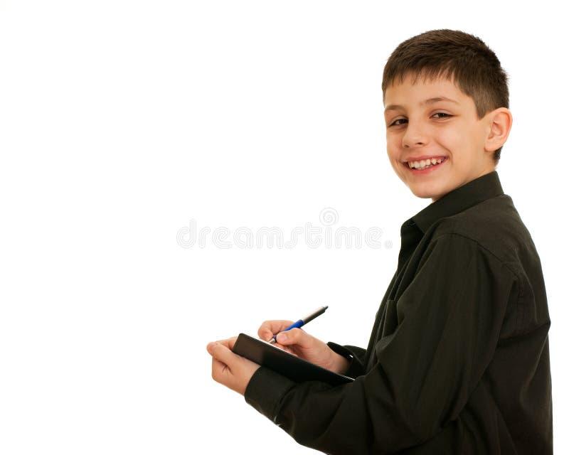 笑的学员 免版税图库摄影