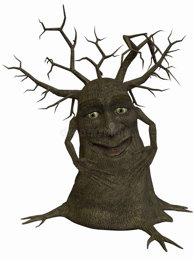 笑的结构树 皇族释放例证