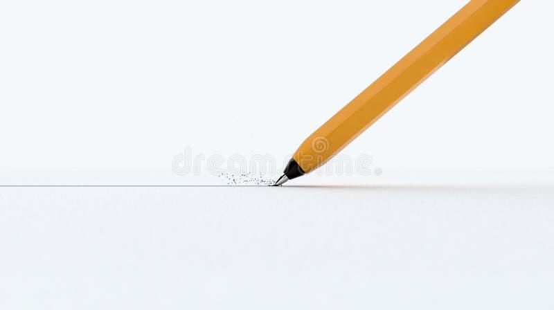 笔图画线 免版税图库摄影