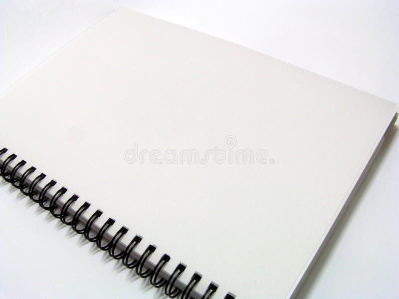 笔记本无格式 图库摄影