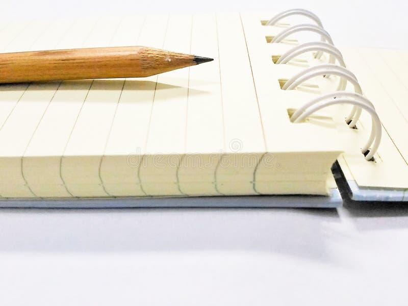 笔记本是一本小书 库存照片