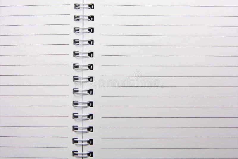 笔记本板料 免版税库存照片