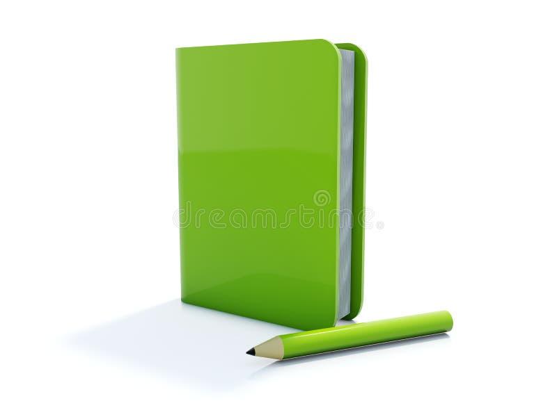 笔记本笔 皇族释放例证