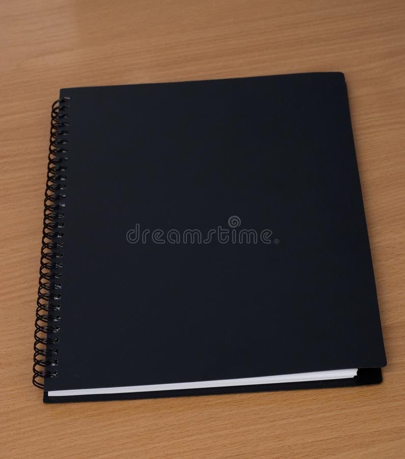 笔记本螺旋表 图库摄影