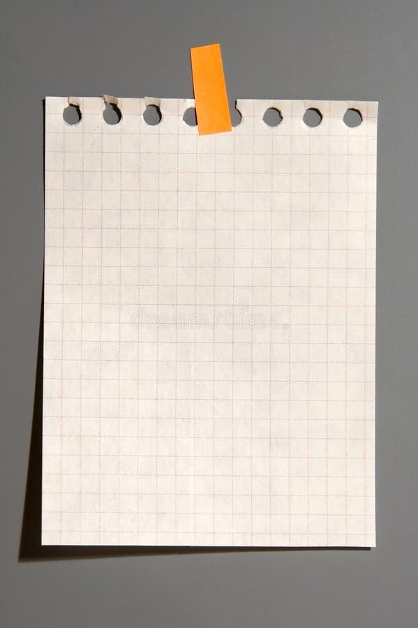 笔记本页 库存图片