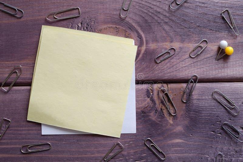 笔记,备忘录,备忘录 免版税库存图片