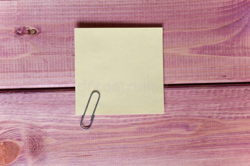 笔记,贴纸 图库摄影