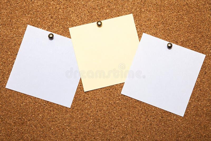 笔记 免版税库存图片