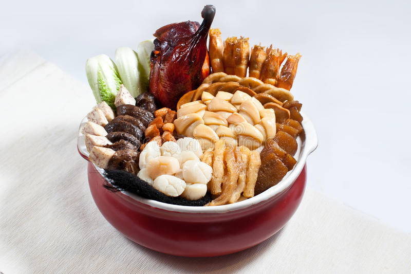 笔Cai, Poon崔,笔柴,彭Cai,大碗宴餐 库存图片