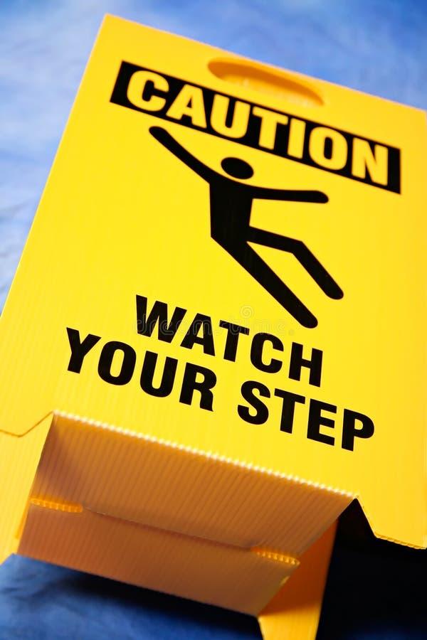符号您步骤的手表 库存照片