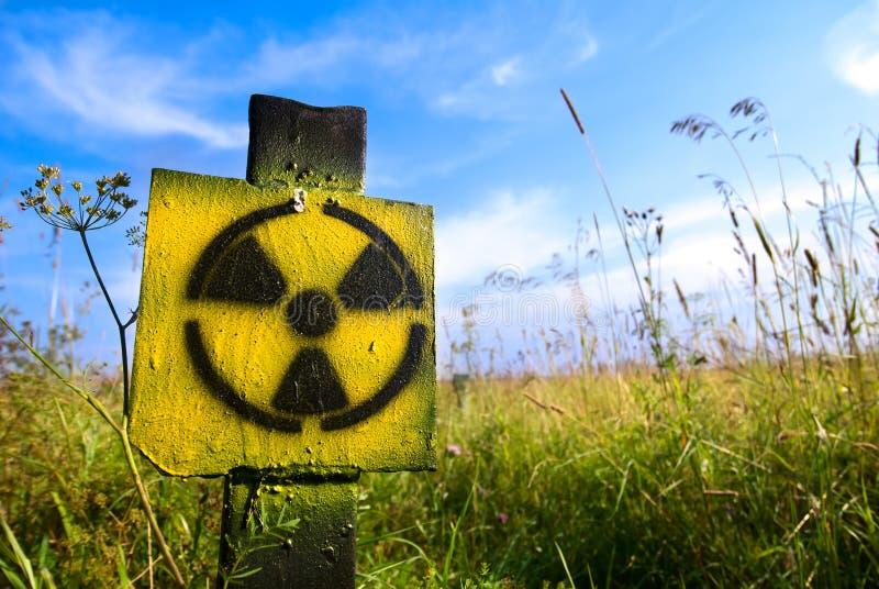符号辐射 图库摄影