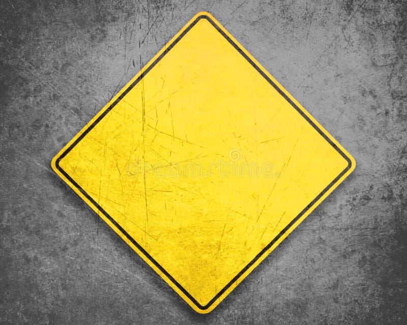 符号黄色 免版税库存图片