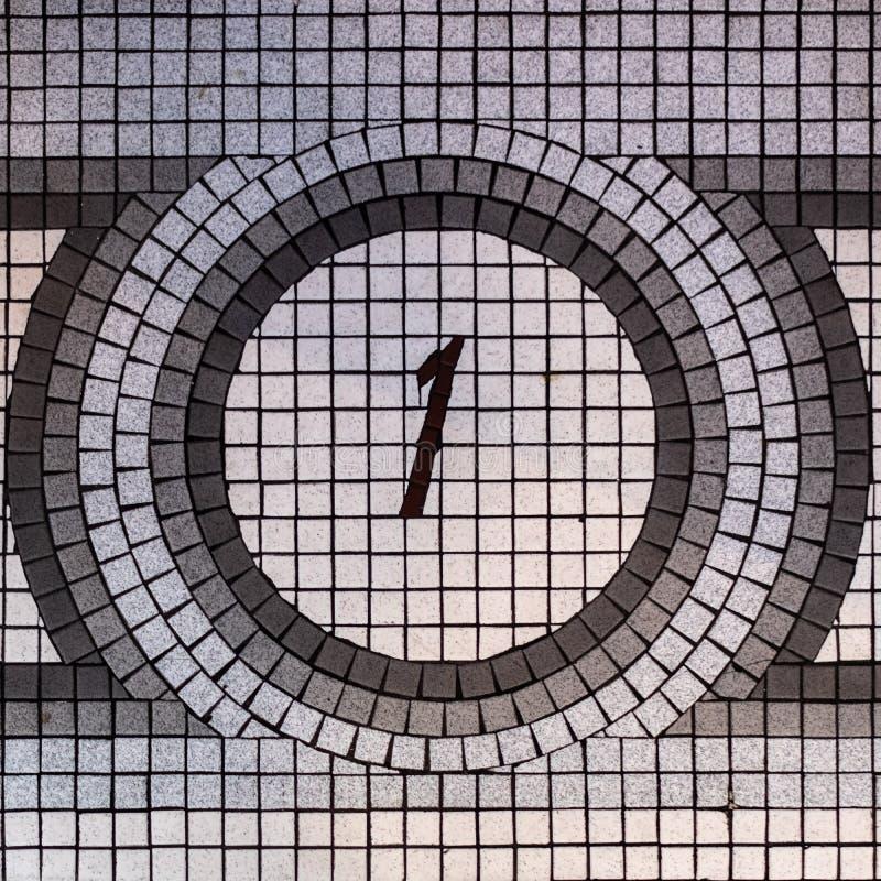 第一地板马赛克 免版税库存图片