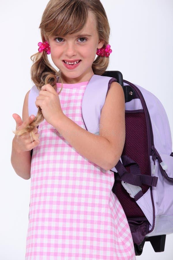 第一天学校 免版税库存照片