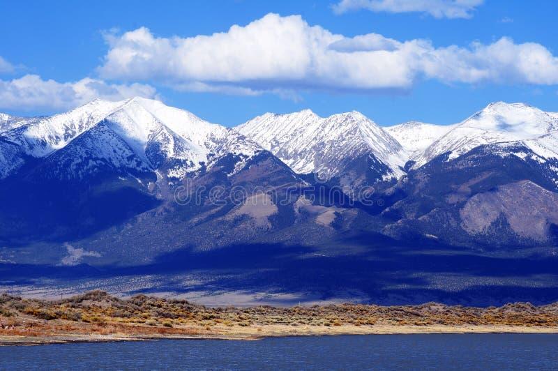 第一山雪科罗拉多 免版税库存图片