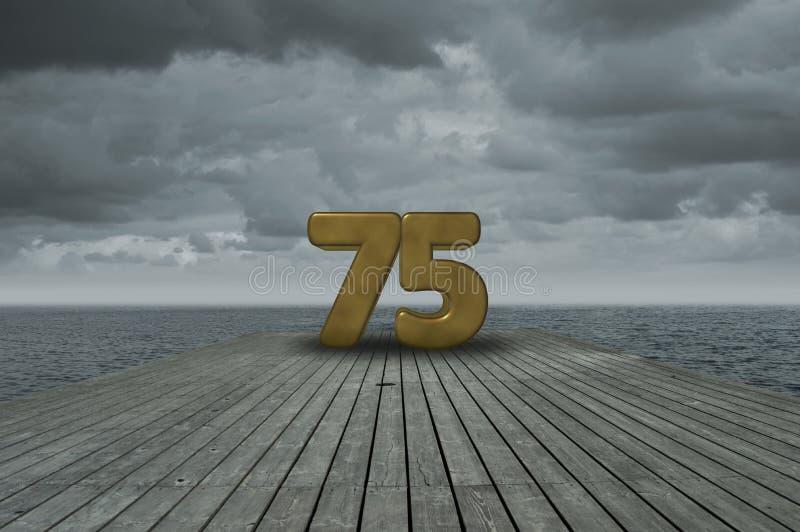 第七十五 免版税库存图片