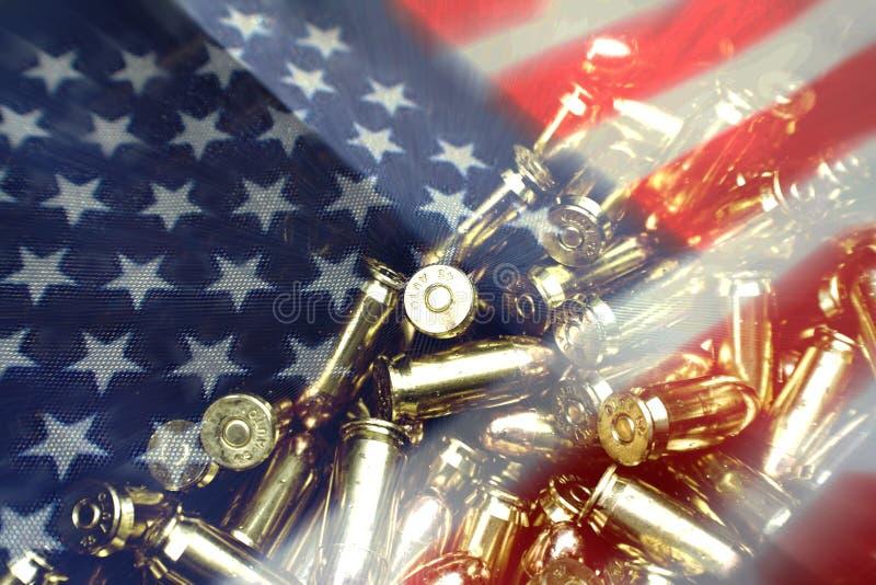 第二个校正携带武器的自由优质 免版税图库摄影