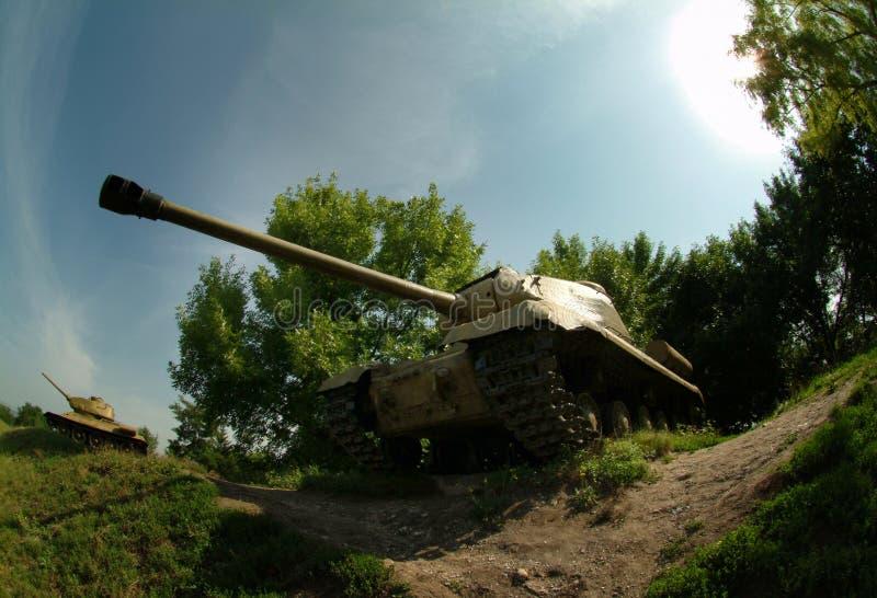 第二次世界大战苏联坦克 库存图片