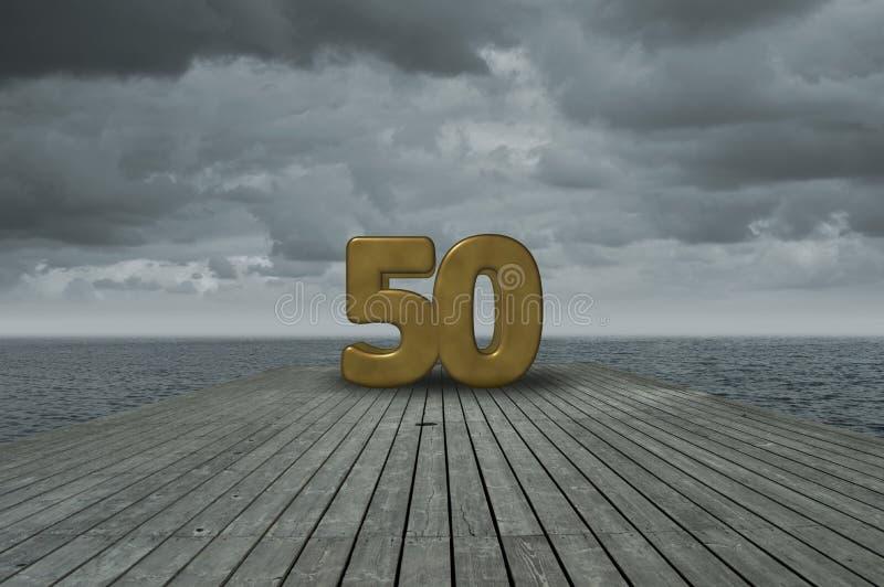 第五十 免版税图库摄影