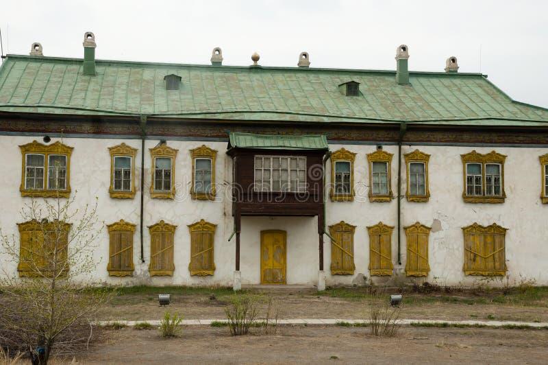 第八世哲布尊丹巴呼图克图- Ulaanbaatar -蒙古的冬宫 免版税库存图片