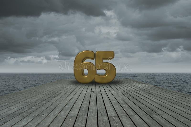 第六十五 免版税图库摄影