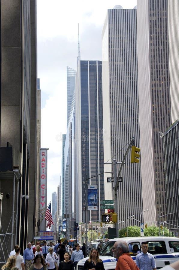 第六条大道 免版税库存图片
