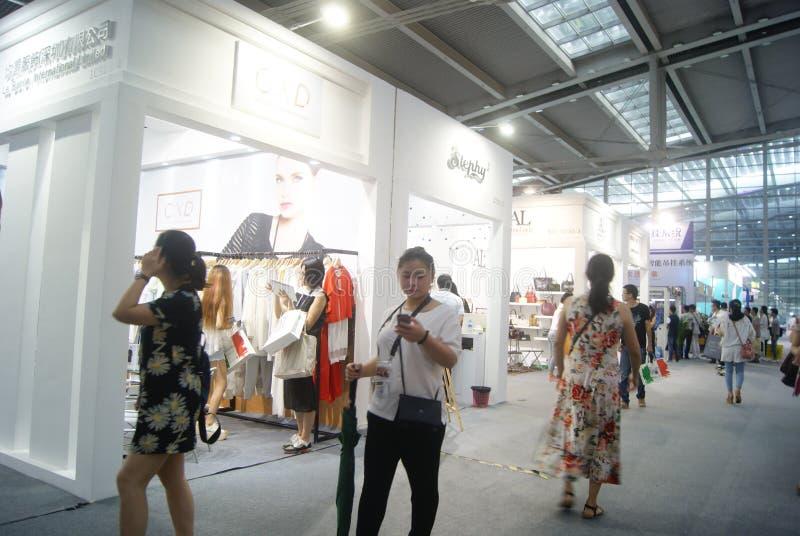 第十四中国(深圳)国际品牌衣物&辅助部件公平的风景 免版税库存照片