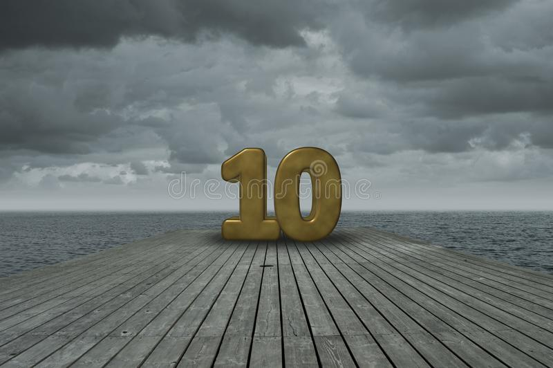 第十 免版税图库摄影
