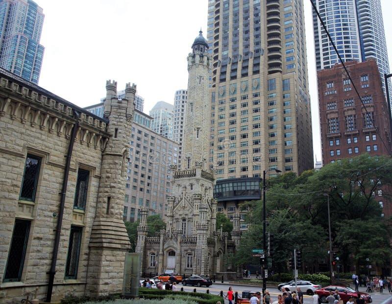 第四长老会,芝加哥,伊利诺伊 库存照片