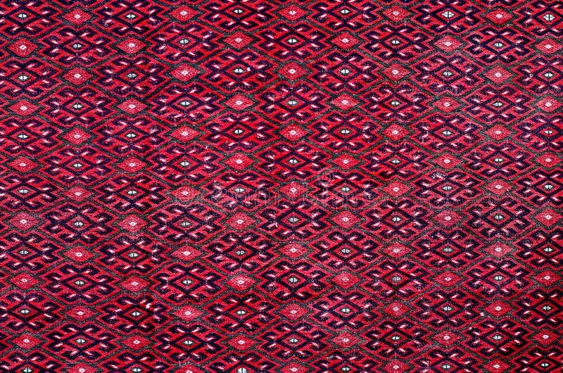 第比利斯,乔治亚, 2017年3月:-有有beauti的五颜六色的地毯 免版税库存照片