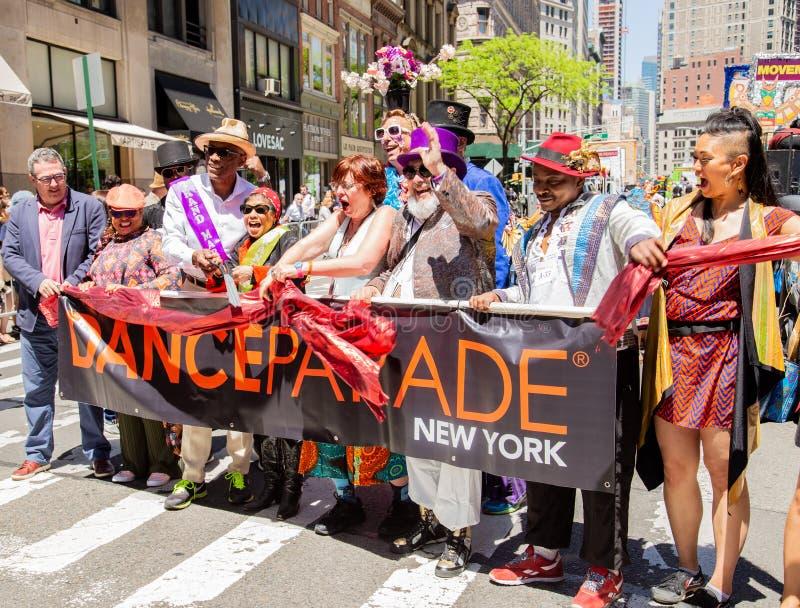 第13个每年纽约舞蹈游行和节日2019年 免版税图库摄影