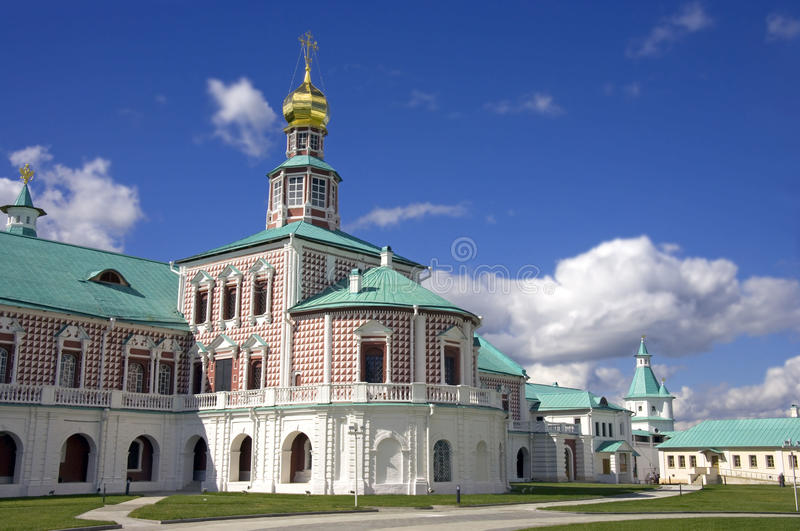2007第23个耶路撒冷6月修道院新的俄国 免版税图库摄影