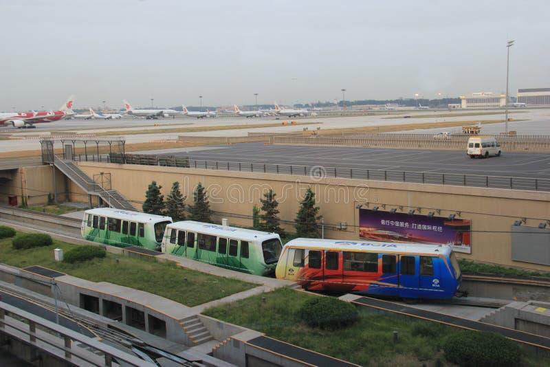 2010第6个被采取的机场北京资本12月国际照片 图库摄影
