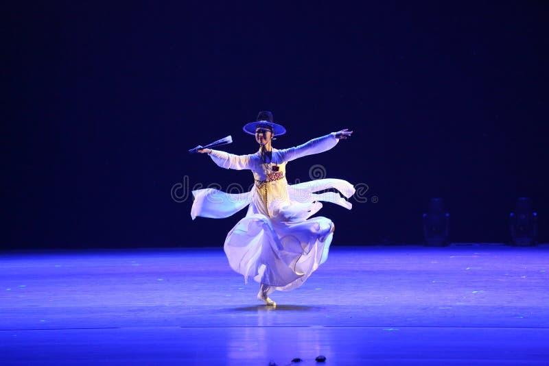 第10中国艺术节舞蹈竞争,韩语 免版税库存照片