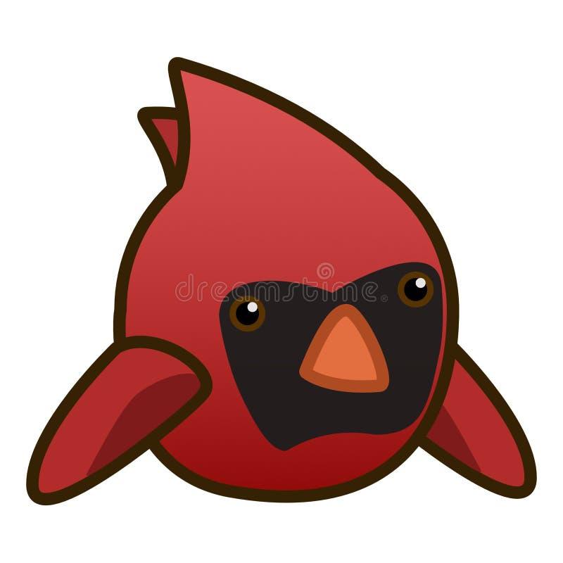 第2只动画片主要鸟平的设计 皇族释放例证