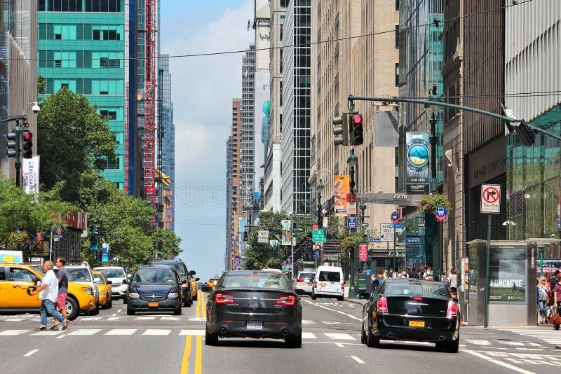 第42条街道, NY 免版税库存照片