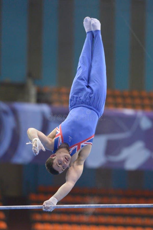 第5欧洲冠军在艺术性的体操方面 免版税库存图片