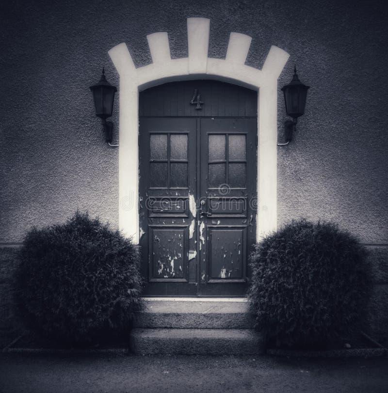 第4老门在瑞典 免版税图库摄影