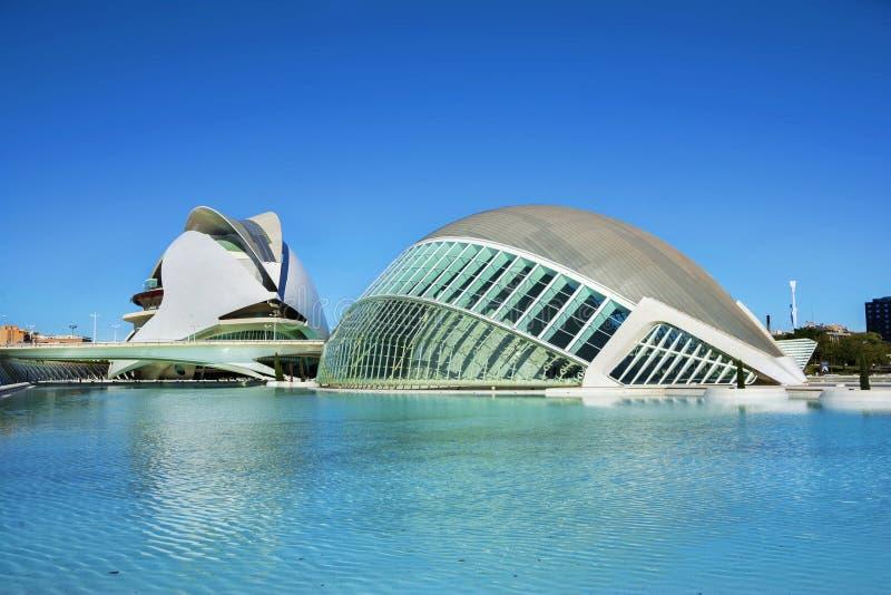 2011第8艺术城市10月照片科学西班牙被采取的巴伦西亚 库存照片