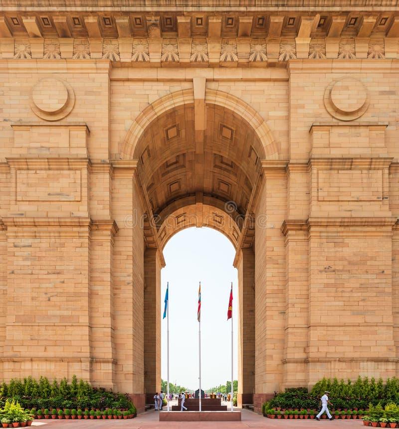 1第3阿富汗英国德里中断了门印度印第安纪念新的战士对世界的战争 免版税库存图片