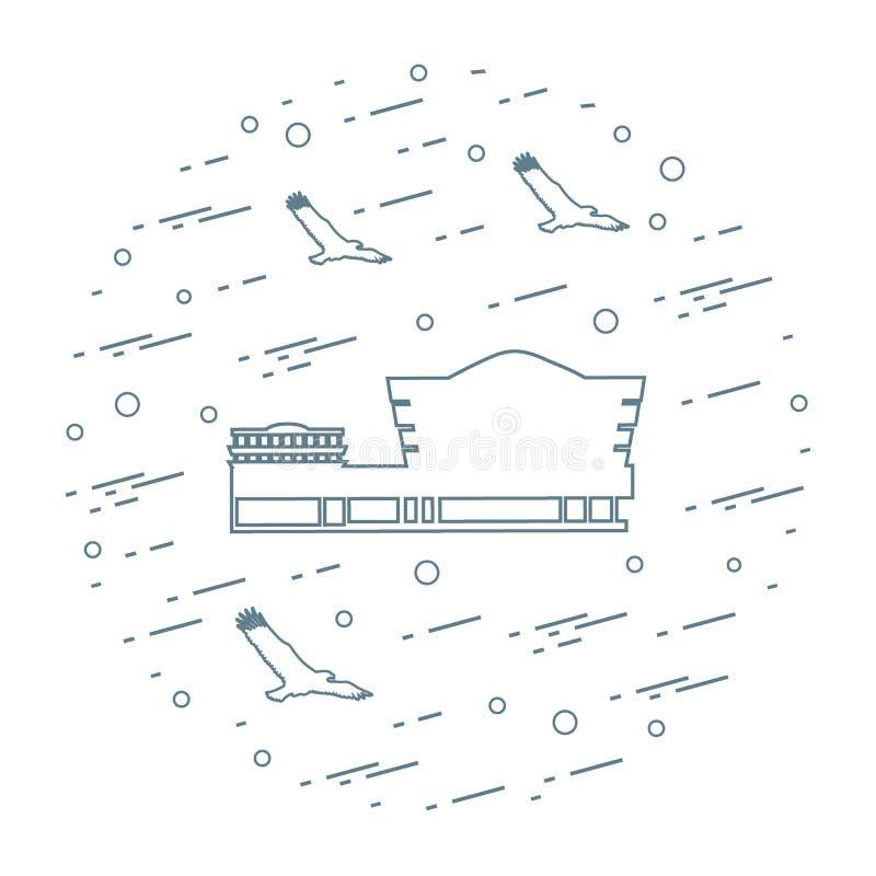 第20结构上成为大厦世纪城市收集文化被设计的特别早期的东部坦率的guggenheim家图标重要印象主义者的已知的地标劳埃德被找出的曼哈顿现代多数博物馆新的经常一固定职位r参考的使有名望的s副solomon对较大我们好的怀特・约克 古根海姆美术馆在纽约,美国a 库存例证