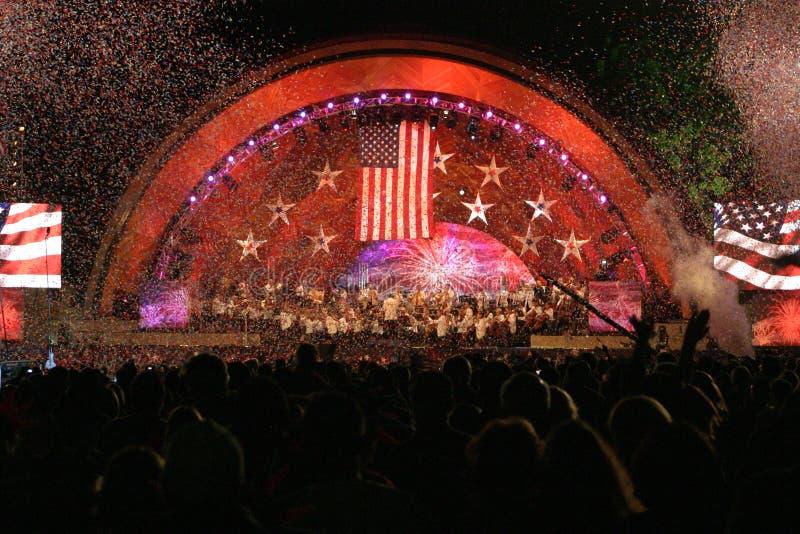 第4次波士顿庆祝7月 免版税库存图片