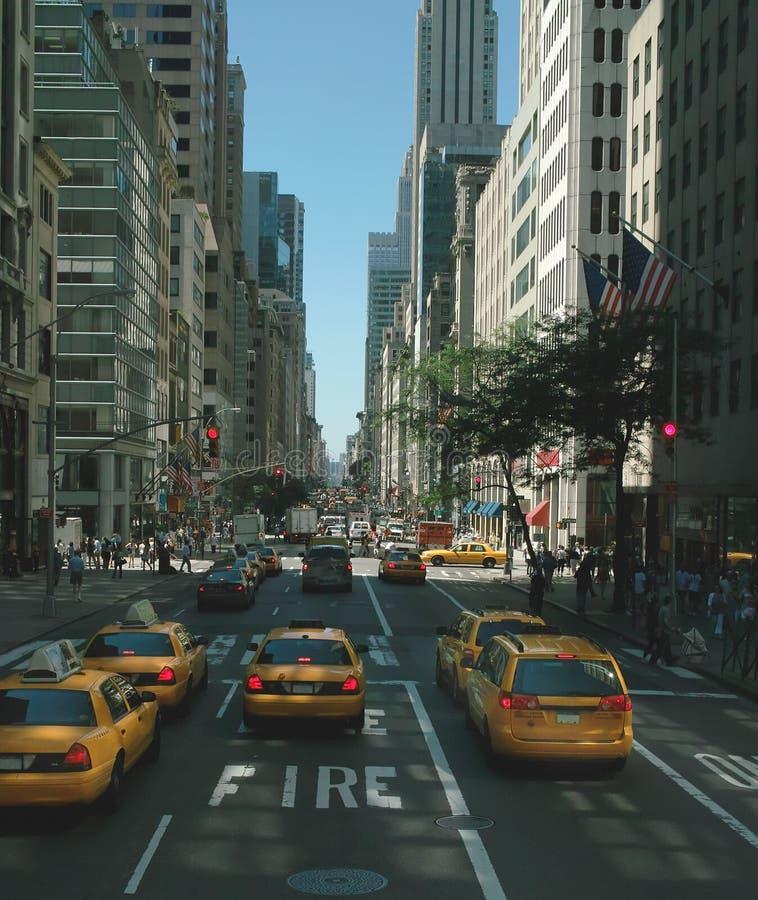 第5条大道纽约 免版税库存图片