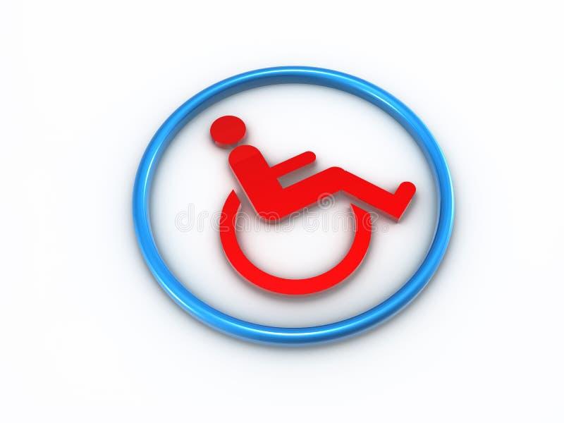 第508部分可及性残疾 向量例证