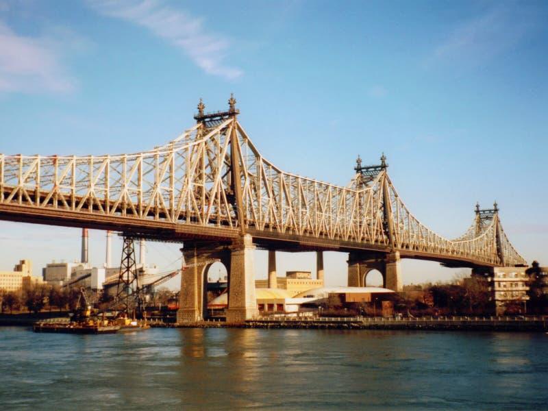 第59条桥梁街道 免版税图库摄影