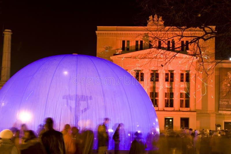 第90拉脱维亚里加 免版税库存照片