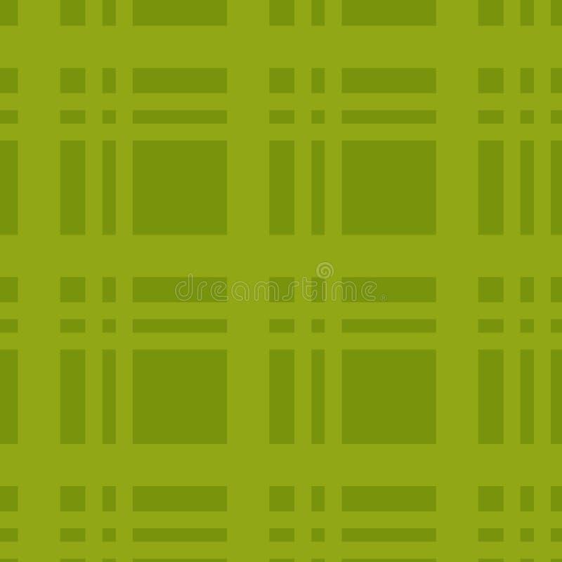 笼子背景 海报的绿色验查员工作 库存例证