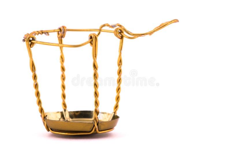 笼子黄柏金属 免版税库存图片