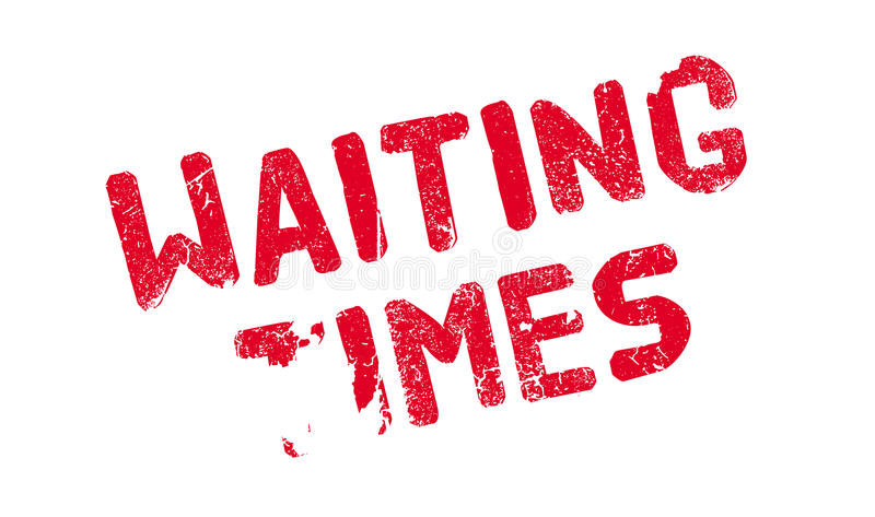 等待时间不加考虑表赞同的人 向量例证