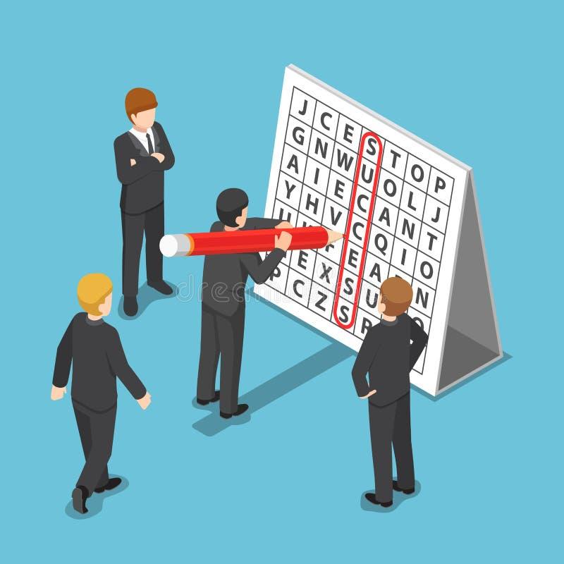 等量商人发现了在词查寻难题的成功 向量例证